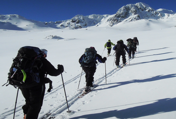 Preparatory course for mountain guides asiprants