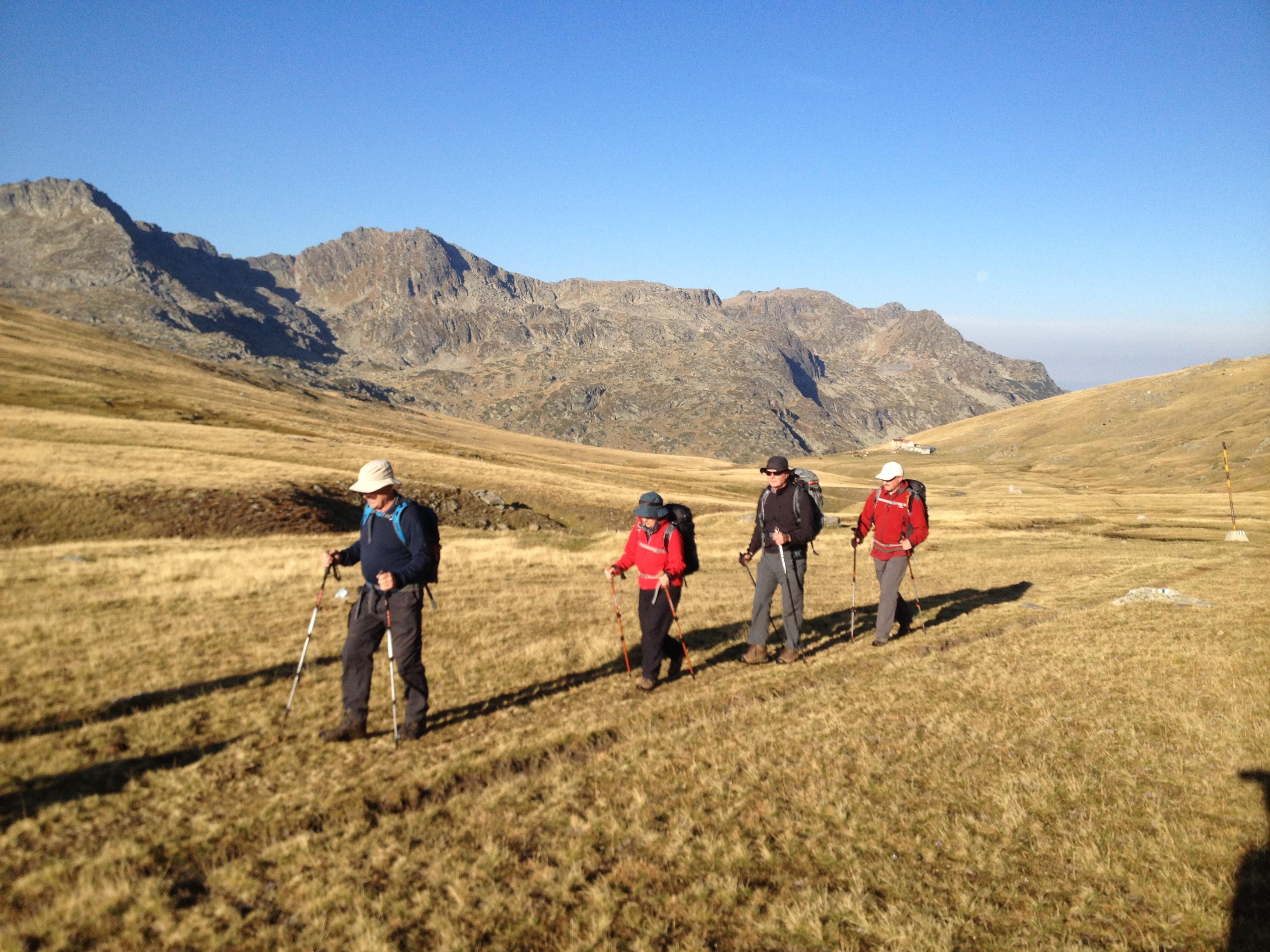 Short training: Guide the trekking tours / Водене на пешеходни преходи